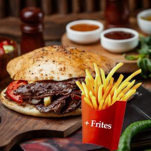 Sandwich Kebab +frites
