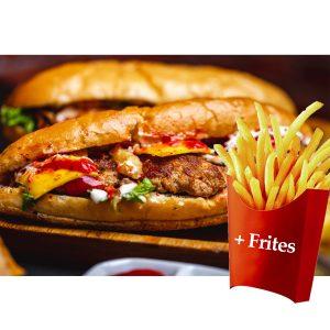 Sandwich Mixte +frites