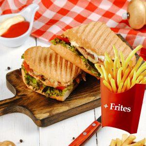 Sandwich Poulet Special +frites
