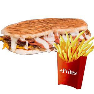 Sandwich Kebab Au Four +frites 2. resim